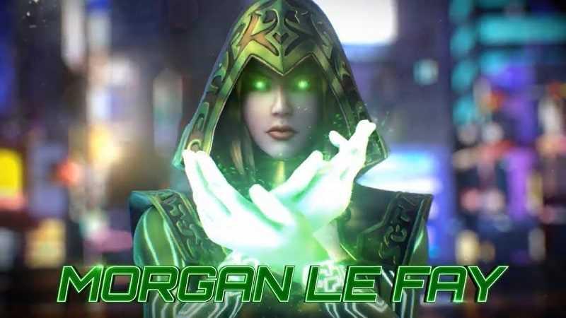 sức mạnh của Morgan le Fay