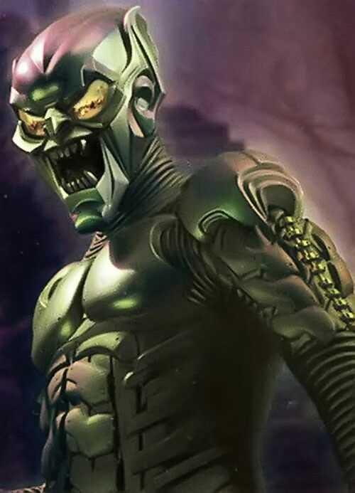 tiểu sử nhân vật Green Goblin