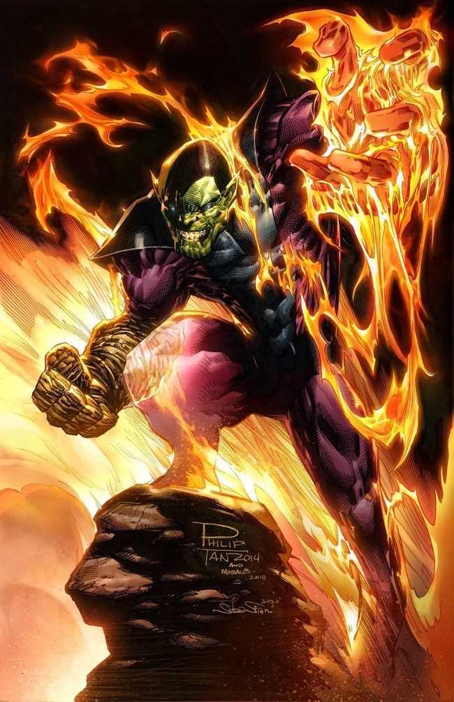 sức mạnh của Super Skrull